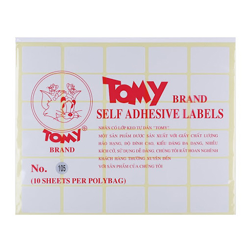 Giấy Decal Tommy A5